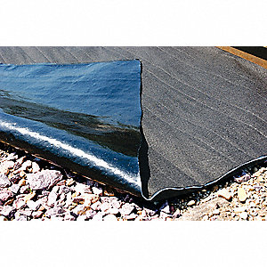 Rail Mat,Gallons Sorbed 96,Gray