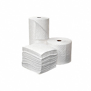 Absorbent Roll,56 gal.,15 In. W,PK2