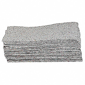 ABSORBENT PADS,15 IN. W,19 IN. L