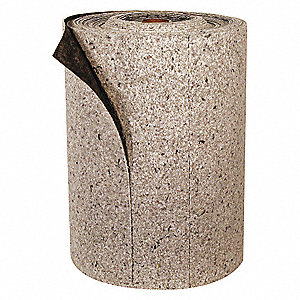Light, 70% Recycled Cellulose Fiber Absorbent Roll, Fluids Absorbed: Universal, 150 ft. Length