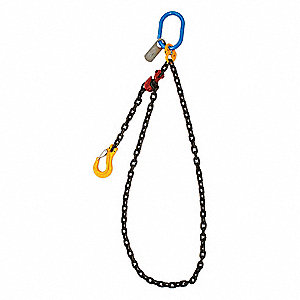 16 ft. Painted Alloy Steel Chain Sling with SGG Sling Type