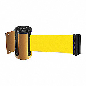 BELT BARRIER, YELLOW,BELT COLOR YEL