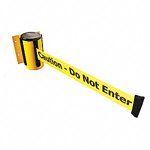 Belt Barrier, Yellow,Belt Color Yellow