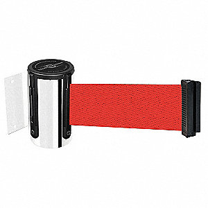 Retractable Belt Barrier, Red