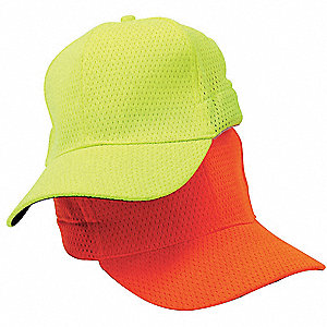 Baseball Hat, Hi-Vis Lime