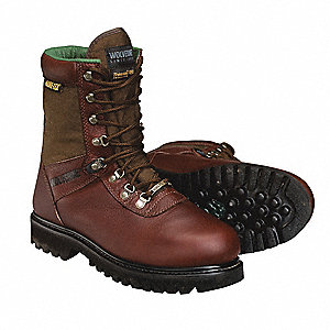 Sport Boots,Pln,Ins,Mens,15,Brown,PR