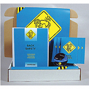 Safety Training Kit,  DVD,  Material Handling/Lifting Safety,  English