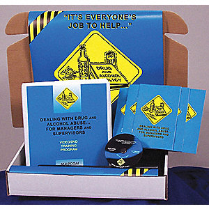 SafetyTrainingKit,DVD,SubstanceAbuse