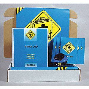 Safety Training Kit,  DVD,  First Aid,  English