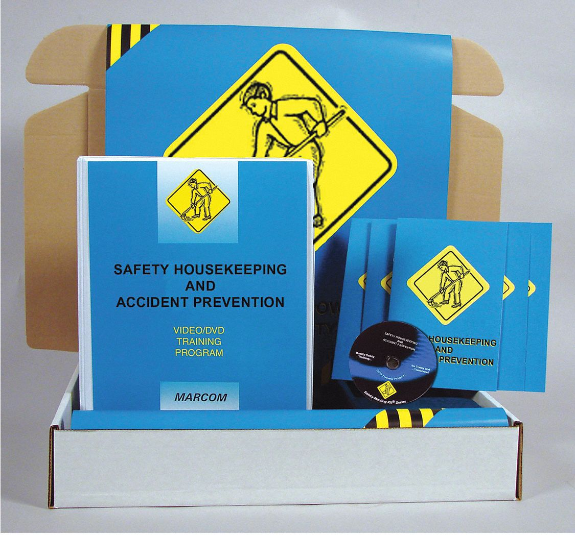 Safety Training Kit,  DVD,  General Safety Training,  English