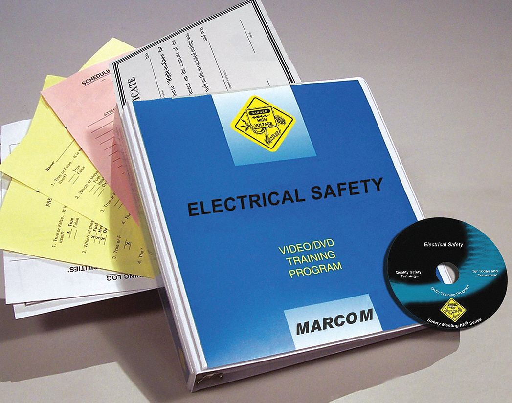 Safety Training Program,  DVD,  Electrical Safety,  English