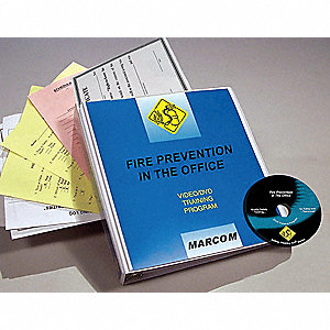 Safety Training Program,  DVD,  Fire Prevention & Management,  English