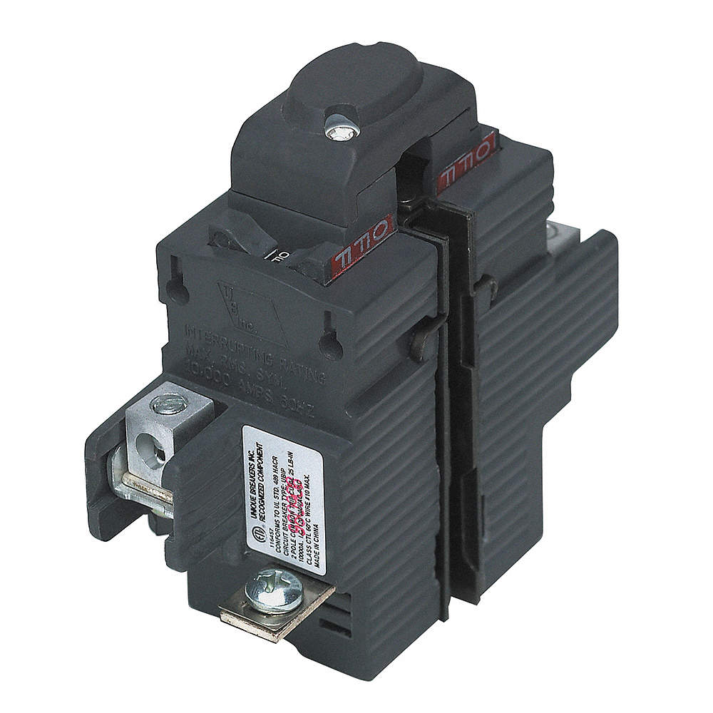 PUSHMATIC Plug In Circuit Breaker, UBIP, Number of Poles 2, 100 Amps ...