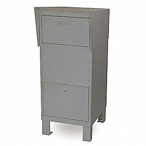 Courier Box, Gray