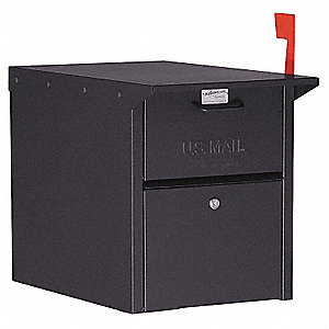 Mail Chest,Black