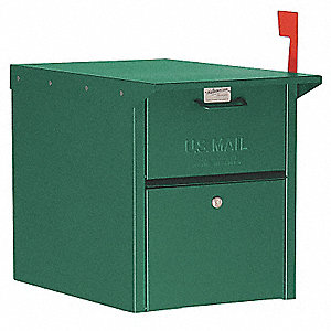 Mail Chest,Green