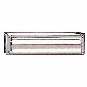 Standard Mail Slot, Magazine Size, Chrome