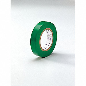 "Safety Warning Tape, Solid, Continuous Roll, 1"" Width, 1 EA"