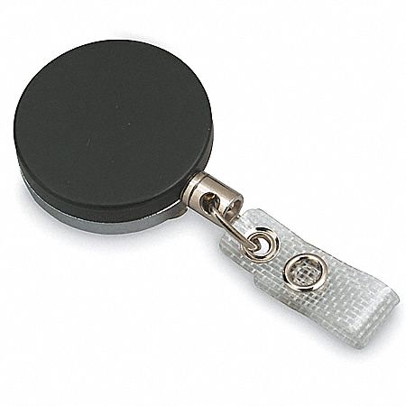 Retractable ID Badge Holder w/Belt Clip