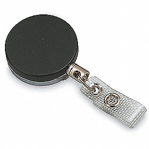 RETRACTABLE ID BADGE HOLDER,CHAIN C