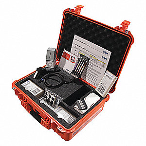 Hazardous Materials Kit, without Detector Tubes, Detects For Multiple Inorganics And Organics/Hazmat
