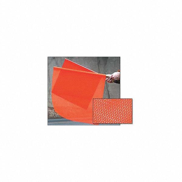 grainger approved handheld warning flag fluorescent