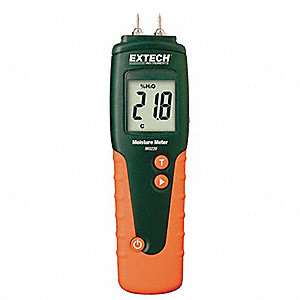 Moisture Meter with Replaceable Contacts