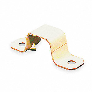Steel Mounting Strap For Use With 500 Raceway, Ivory