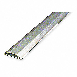 10 ft. 1500 Series Raceway, Steel, Gray, Cover Type: Snap On