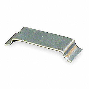 Steel Wire Clip For Use With 1500 Raceway, Gray