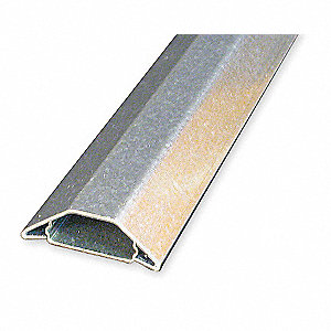 10 ft. 2600 Series Raceway, Steel, Gray, Cover Type: Snap On