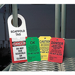 SCAFFOLD TAG HOLDER