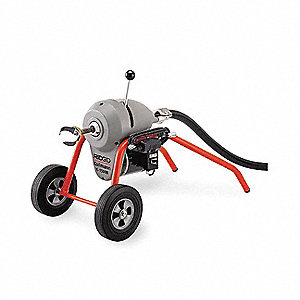 Sectional Drain Cleaning Machine,3/4 HP