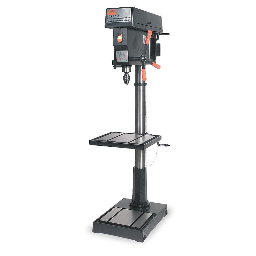 Dayton 1 Motor Hp Floor Drill Press
