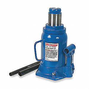 "6-1/4"" x 5-7/8"" Side Pump   Bottle Jack with 20 tons Lifting Capacity"