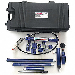 "Hydraulic Maintenance Set, 10 Ton Tonnage Capacity, 6"" Stroke Length"