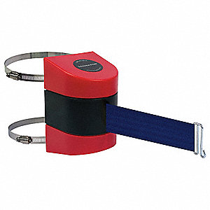 Retractable Belt Barrier, Blue
