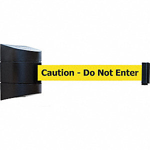 Belt Barrier, Black,Belt Color Yellow