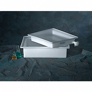 Laboratory Tray,LDPE,22 In. W,18 In. D