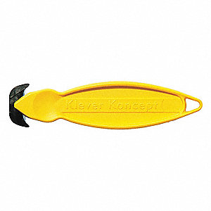 "Fixed Blade 5-3/4"" Safety Cutter, 10 PK"