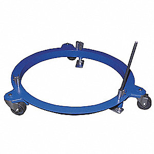 Pail Dolly,750 lb.,6-1/8 In. H,55 gal.