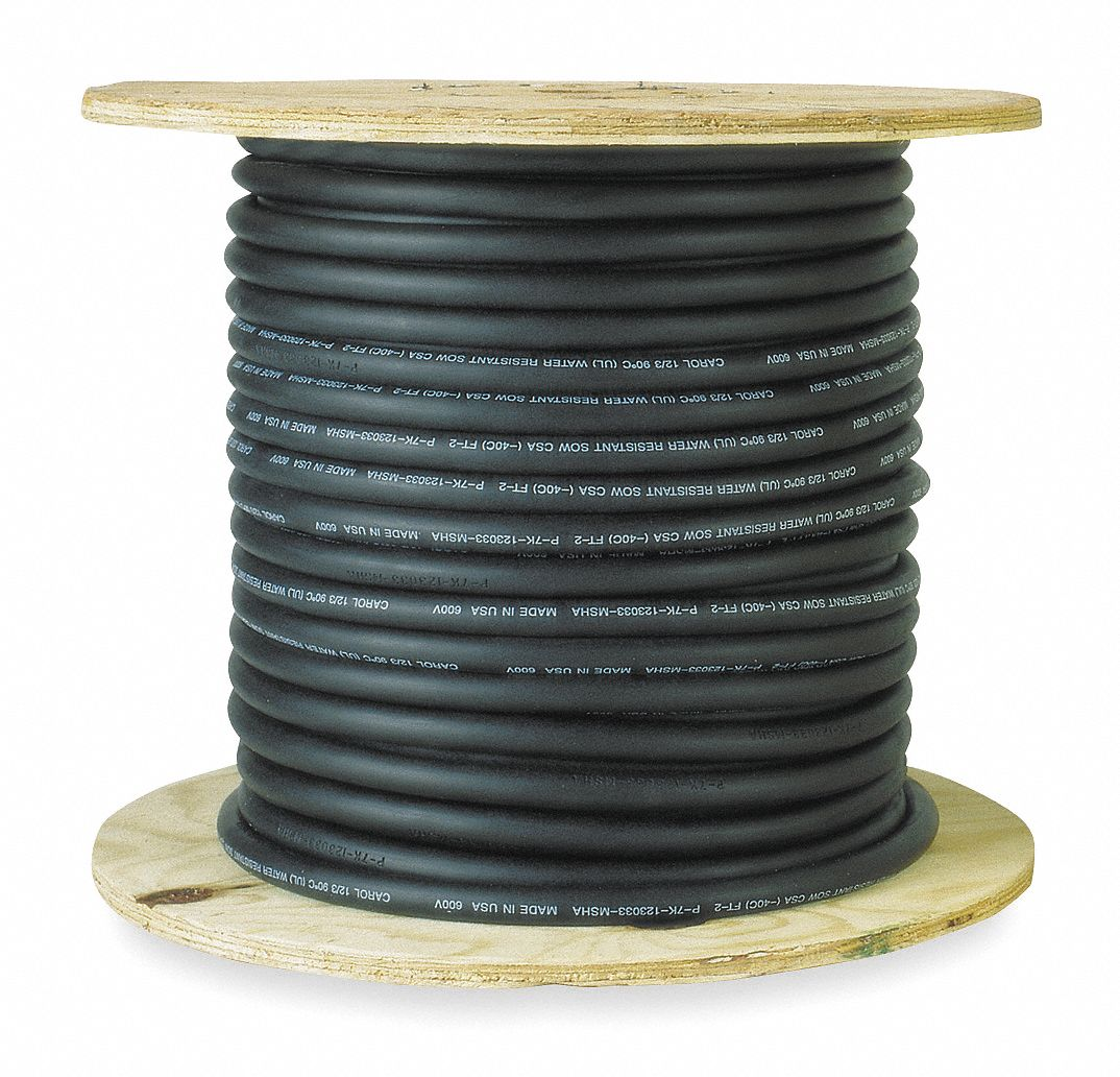 GENERAL CABLE 500 ft. Unshielded VNTC Tray Cable with 3 Conductors ...