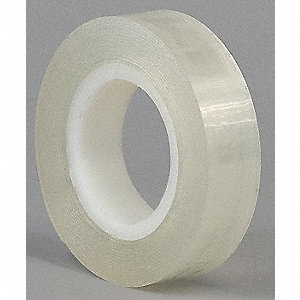 "Acrylic Foam Double Sided Foam Tape, Acrylic Adhesive, 1/32"" Thick, 6"" X 4 yd., Clear"