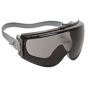 Anti-Fog Chemical Splash/Impact Resistant Goggles, Gray Lens Color