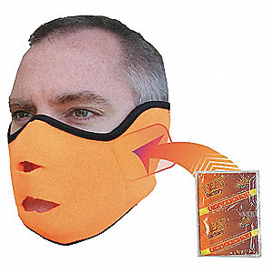 Face Mask,Orange,Universal