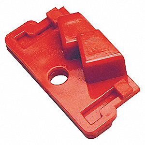 Single Pole Breaker Lockout, 120/277, Clamp-On Lockout Type, Polycarbonate