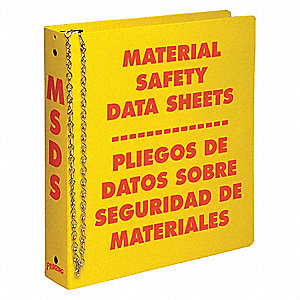 "Red/Yellow Binder, English, 1-1/2"" Ring Size"