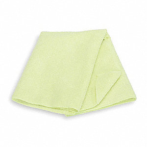 "Medium Duty Microfiber Cloth, Yellow, 20"" x 20"", 6 PK"