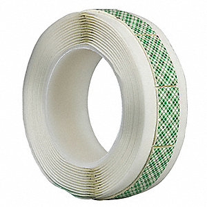 Double Coated Tape Shape,3/4x4-1/2,PK40