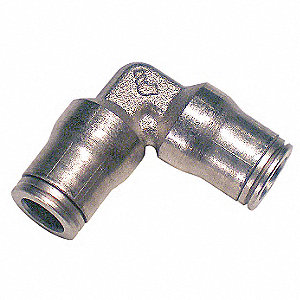 "90 Elbow Union,1/4"",Tube,Brass"